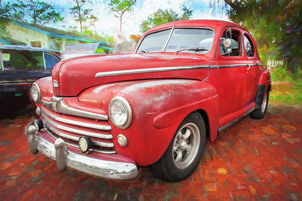 Wall Art - Photograph - 1947 Ford Super Deluxe Coupe 001 by Rich Franco