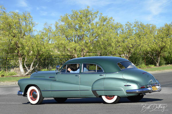 Photograph - 1948 Buick Super Eight by Bill Dutting