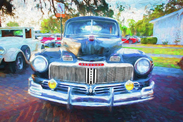 Wall Art - Photograph - 1948 Mercury 2 Door Club Coupe 106  by Rich Franco