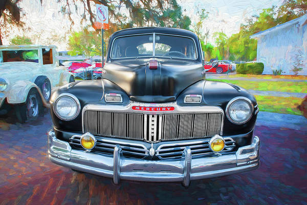 Wall Art - Photograph - 1948 Mercury 2 Door Club Coupe 108  by Rich Franco