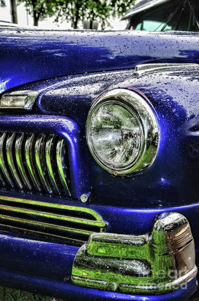 Wall Art - Photograph - 1948 Mercury Super Deluxe Coupe Headlight by Paul Ward