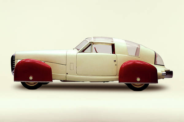 Kitsch Photograph - 1948 Tasco Sport Coupe Prototype With by Car Culture