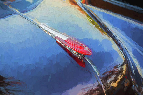 Wall Art - Photograph - 1949 Chevrolet Coupe Hood Ornament 101 by Rich Franco