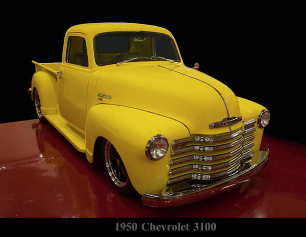Photograph - 1950 Chevrolet 3100 by Chris Flees
