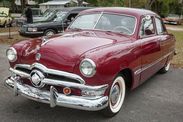 Wall Art - Photograph - 1950 Ford Deluxe 2-door Club Coupe 214 by Rich Franco