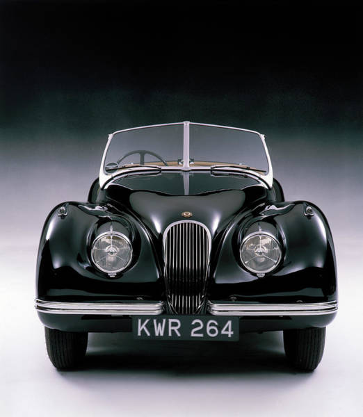Sport Car Photograph - 1950 Jaguar Xk 120 by Heritage Images