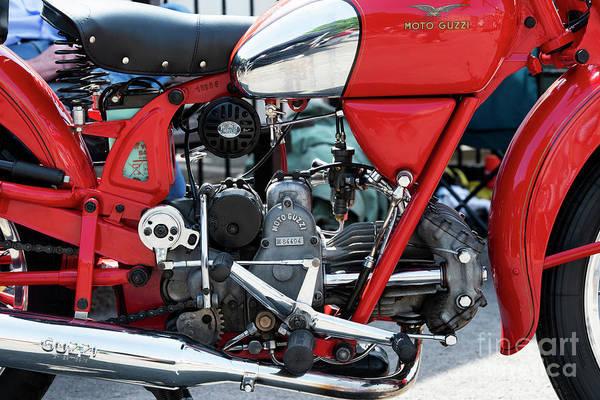 Photograph - 1950 Moto Guzzi Falcone by Tim Gainey