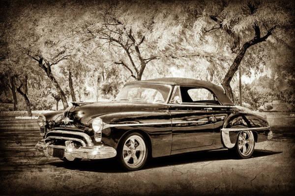 Wall Art - Photograph - 1950 Oldsmobile 88 -004s by Jill Reger