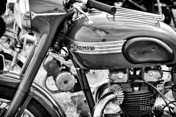Wall Art - Photograph - 1950 Triumph Tr6 Thunderbird by Tim Gainey