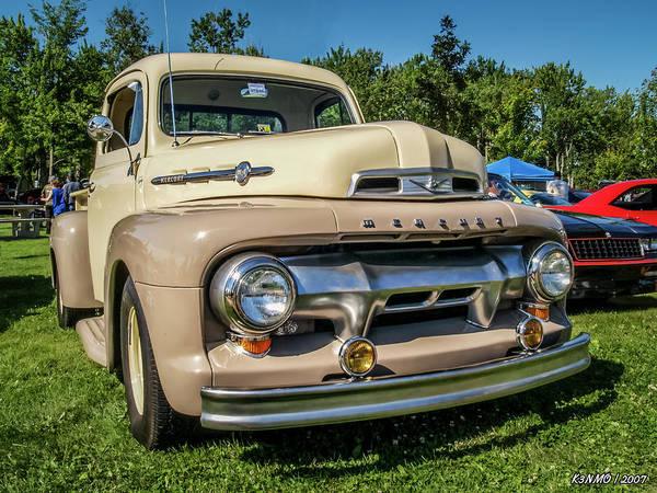 Digital Art - 1950s Mercury M1 Pickup Truck by Ken Morris