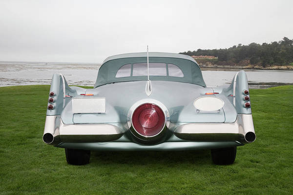 Monterey Bay Photograph - 1951 Buick Lesabre Concept by Car Culture