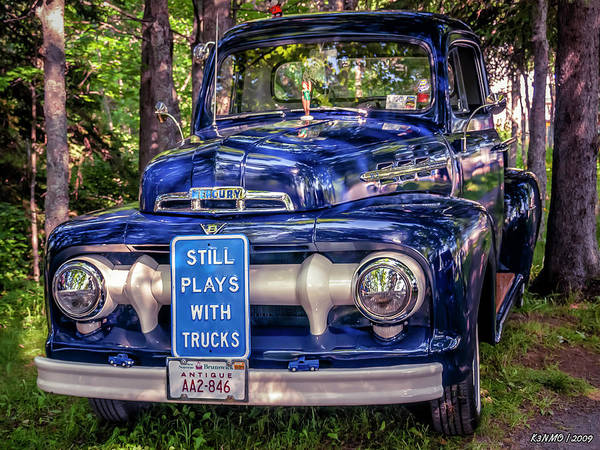 Photograph - 1951 Mercury Pickup Truck by Ken Morris