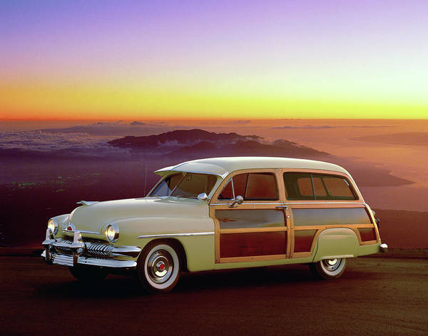 Sport Car Photograph - 1951 Mercury Station Wagon by Car Culture