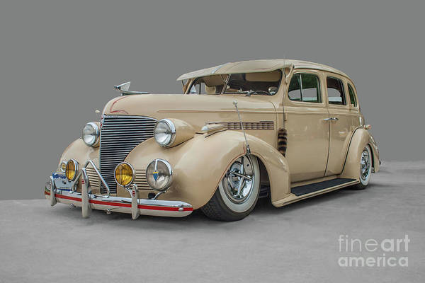 Photograph - 1939 Chevrolet Master Deluxe by Tony Baca