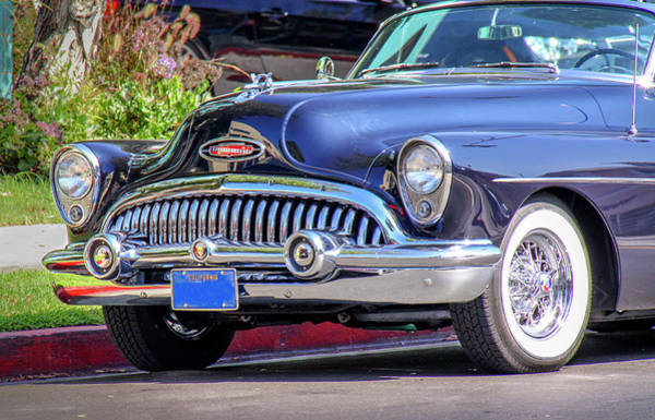 Photograph - 1953 Buick Skylark - Chrome And Grill by Gene Parks