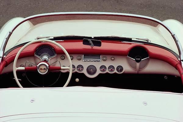 Car Photograph - 1953 Chevrolet Corvette Convertible by Car Culture