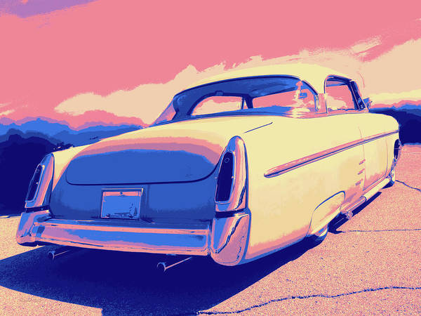 Digital Art - 1953 Mercury Custom by David King