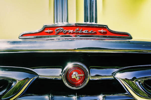 Vehicles Wall Art - Photograph - 1953 Pontiac Grille by Scott Norris
