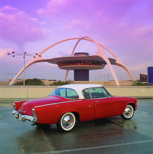 Wall Art - Photograph - 1953 Studebaker Starliner Coupe At Lax by Car Culture