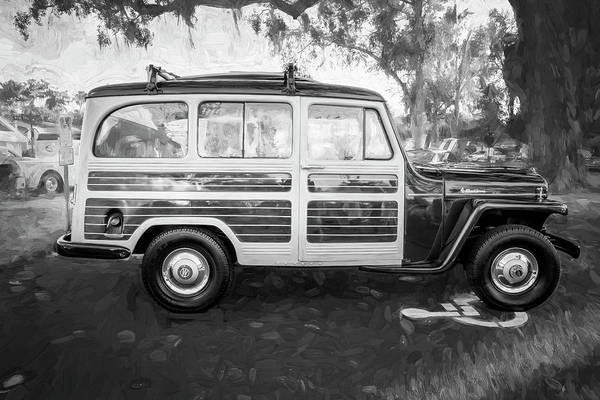Photograph - 1953 Willys Wagon 4x4 001 by Rich Franco