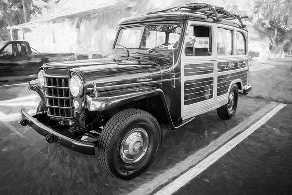 Photograph - 1953 Willys Wagon 4x4 005 by Rich Franco