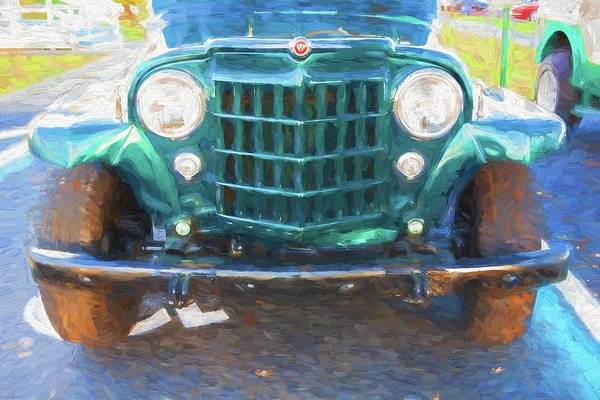 Photograph - 1953 Willys Wagon 4x4 006 by Rich Franco