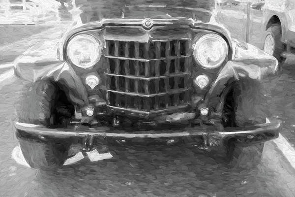 Photograph - 1953 Willys Wagon 4x4 007 by Rich Franco