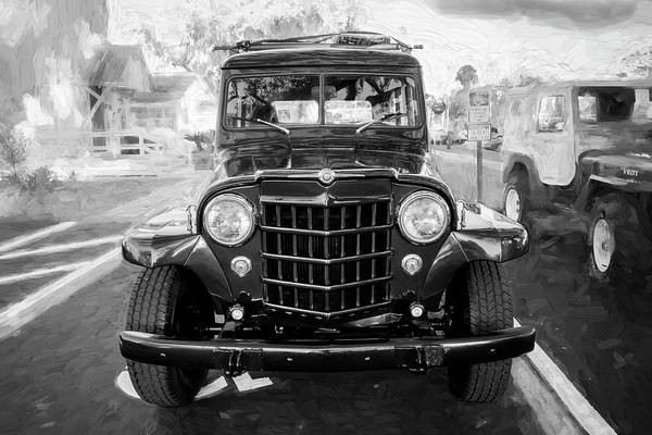 Photograph - 1953 Willys Wagon 4x4 009 by Rich Franco