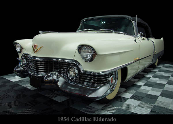 Photograph - 1954 Cadillac Eldorado by Chris Flees