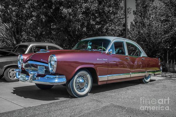 Photograph - 1954 Kaiser Special by Tony Baca