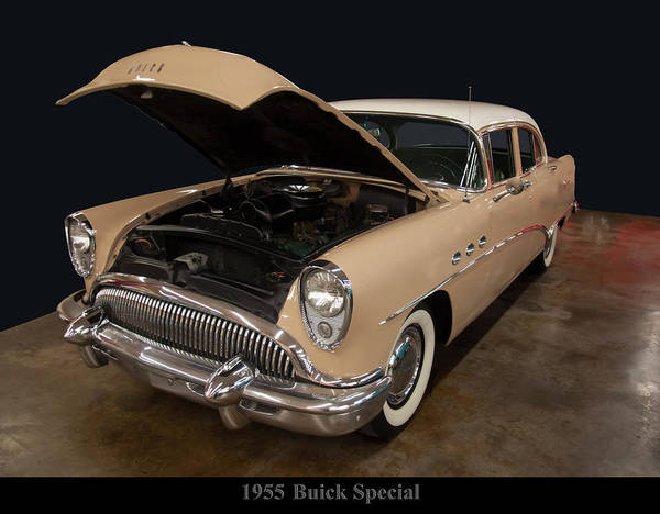Photograph - 1955 Buick Special by Chris Flees