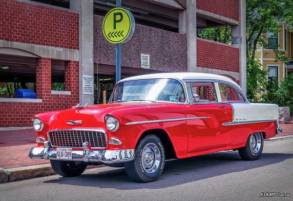 Digital Art - 1955 Chevrolet Bel Air  by Ken Morris