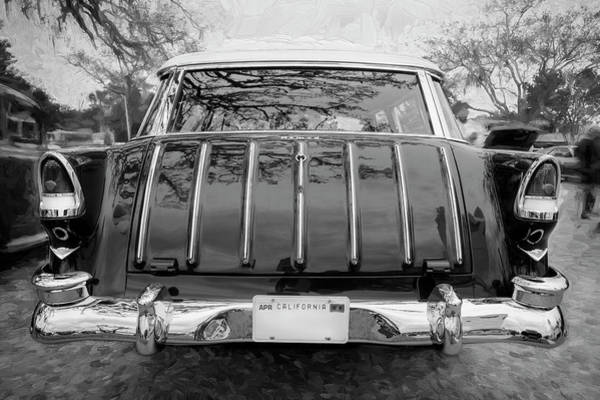 Photograph - 1955 Chevrolet Bel Air Nomad Station Wagon 220 by Rich Franco