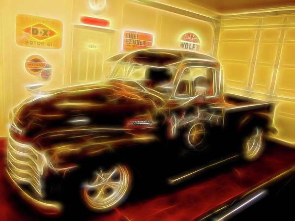 Digital Art - 1955 Chevy Truck by Rick Wicker