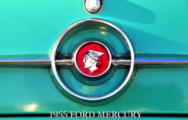 Wall Art - Photograph - 1955 Ford Mercury Fine Art Work A by David Lee Thompson