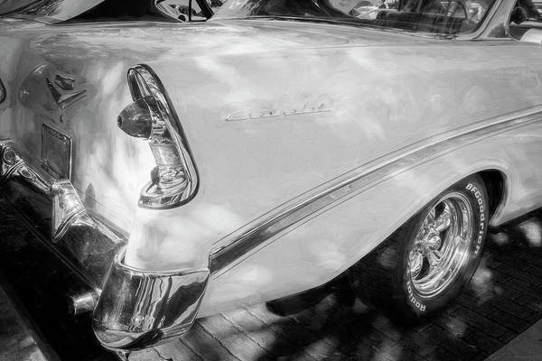 Photograph - 1956 Chevrolet Bel Air 2 Door 10a by Rich Franco