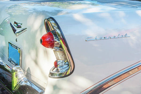 Photograph - 1956 Chevrolet Bel Air 2 Door 11a by Rich Franco