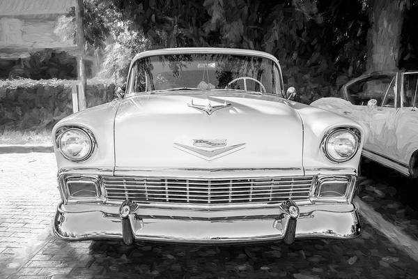 Photograph - 1956 Chevrolet Bel Air 2 Door 13a by Rich Franco