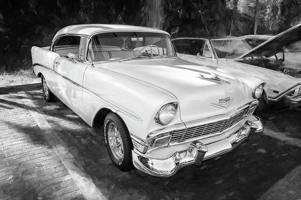 Photograph - 1956 Chevrolet Bel Air 2 Door 15a by Rich Franco