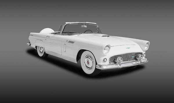 Wall Art - Photograph - 1956 Ford Thunderbird Convertible   -  1956fordthunderbirdconvertfine141056 by Frank J Benz