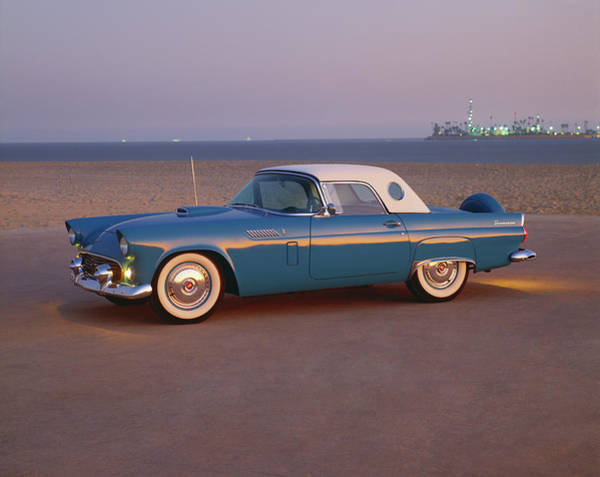 1956 Ford Thunderbird Photograph - 1956 Ford Thunderbird Convertible Coupe by Car Culture