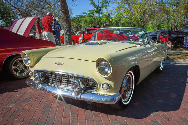 Photograph - 1956 Ford Thunderbird Painted 016 by Rich Franco