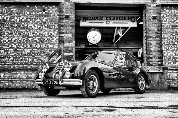 Photograph - 1956 Jaguar Xk  by Tim Gainey