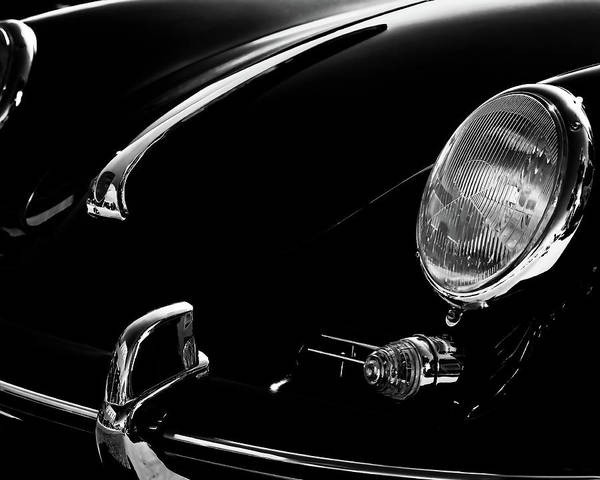 Photograph - 1956 Porsche 356 by Thomas Hall