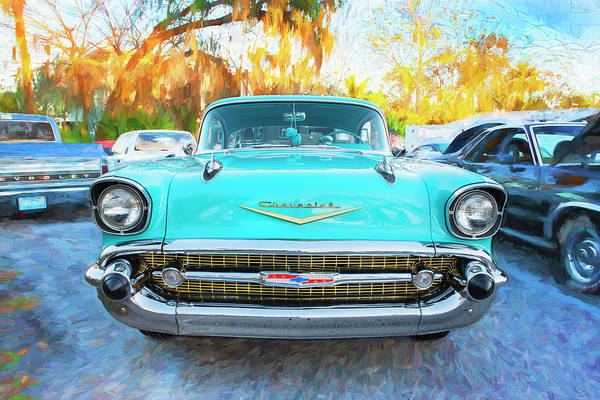 Wall Art - Photograph - 1957 Chevrolet Bel Air 100 by Rich Franco