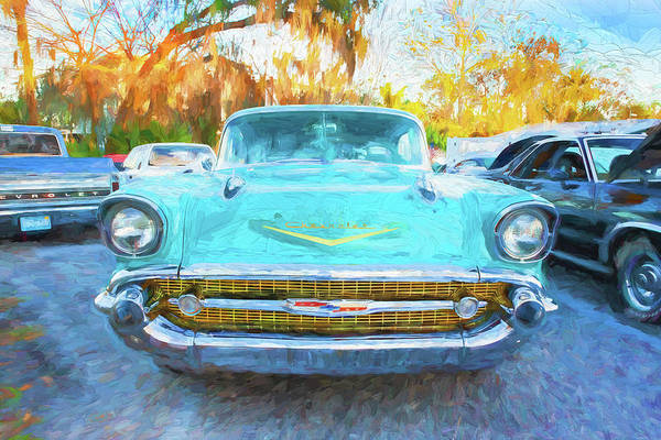 Wall Art - Photograph - 1957 Chevrolet Bel Air 101 by Rich Franco