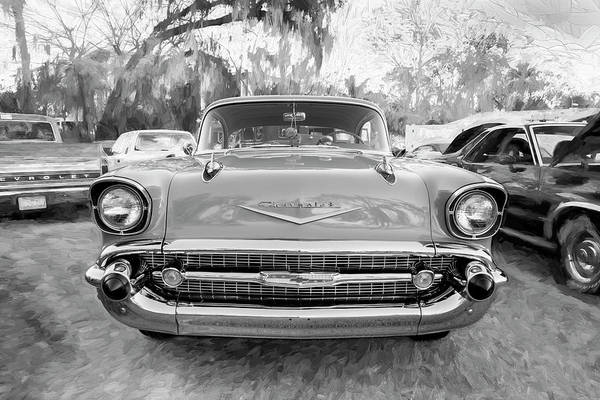 Wall Art - Photograph - 1957 Chevrolet Bel Air 102 by Rich Franco