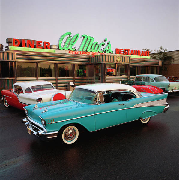 Sport Car Photograph - 1957 Chevrolet Bel Air Sports Coupe by Car Culture
