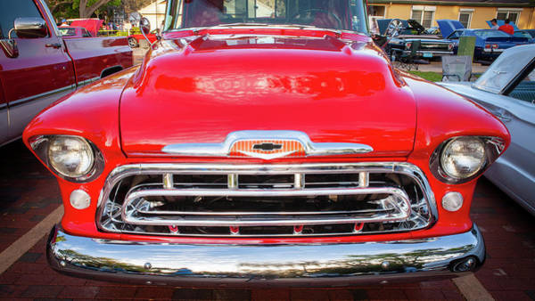 Photograph - 1957 Chevy Pick Up Truck 3100 Series 114 by Rich Franco