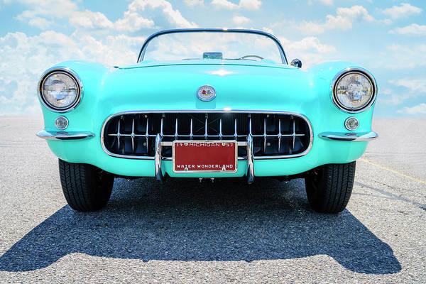 Wall Art - Photograph - 1957 Corvette Convertible by Alexey Stiop